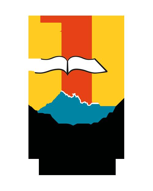 """Logo kampanii społecznej """"Łodzkie czyta"""""""