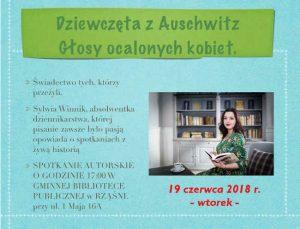 Spotkanie autorskie z Sylwią Winnik